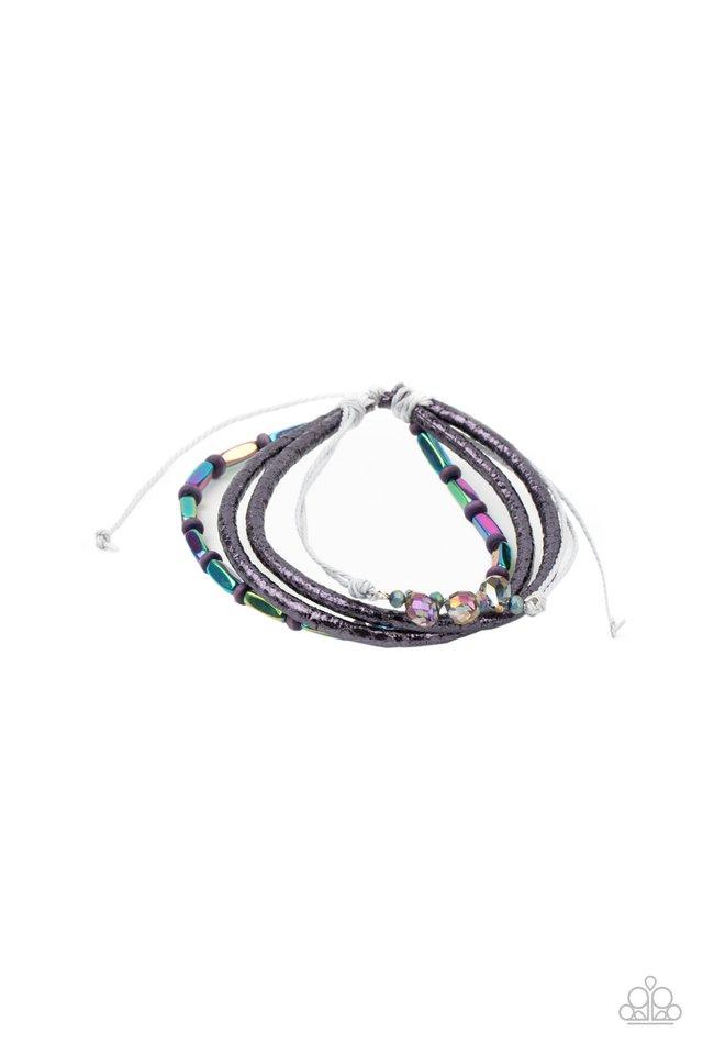 Holographic Hike - Multi - Paparazzi Bracelet Image