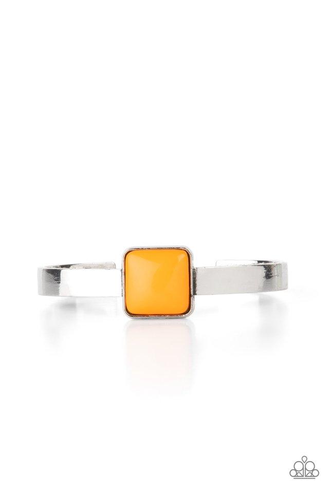 Prismatically Poppin - Orange - Paparazzi Bracelet Image