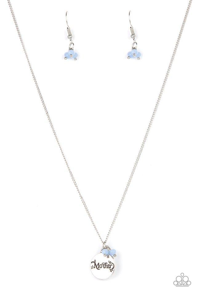 Warm My Heart - Blue - Paparazzi Necklace Image