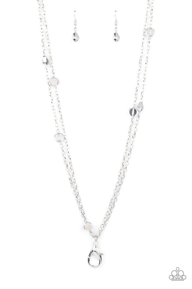 My GLEAM Job - Silver - Paparazzi Necklace Image