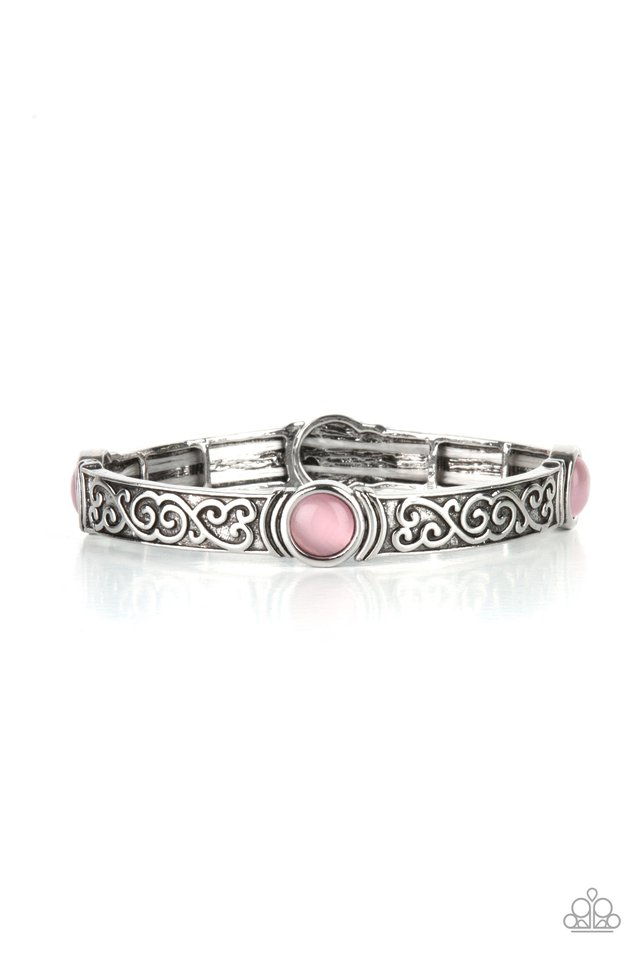 Ethereally Enchanting - Pink - Paparazzi Bracelet Image