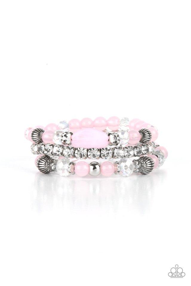 Ethereal Etiquette - Pink - Paparazzi Bracelet Image