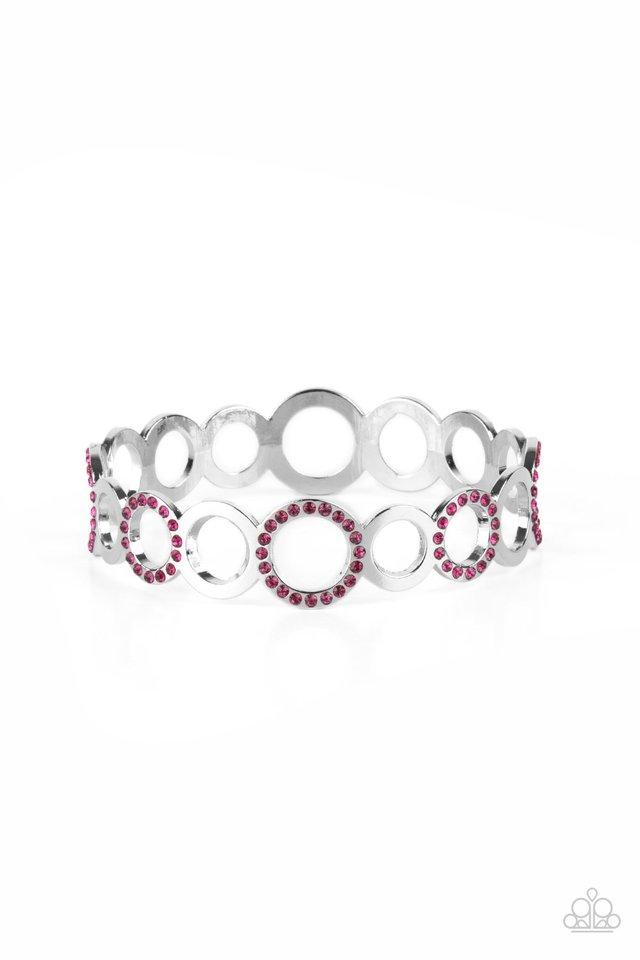 Future, Past, and POLISHED - Pink - Paparazzi Bracelet Image