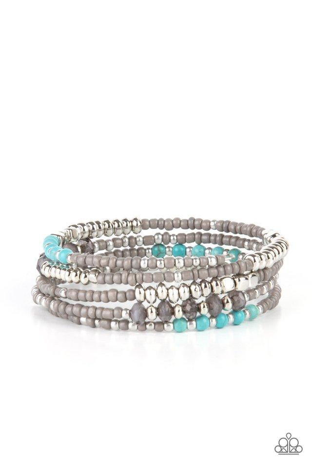 Infinitely Dreamy - Silver - Paparazzi Bracelet Image