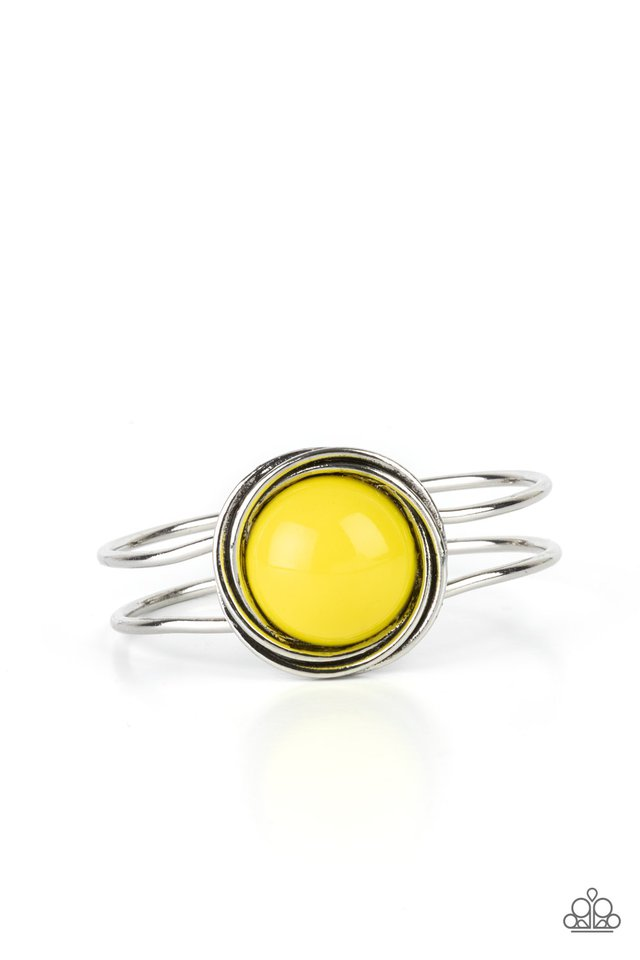Take It From The POP! - Yellow - Paparazzi Bracelet Image
