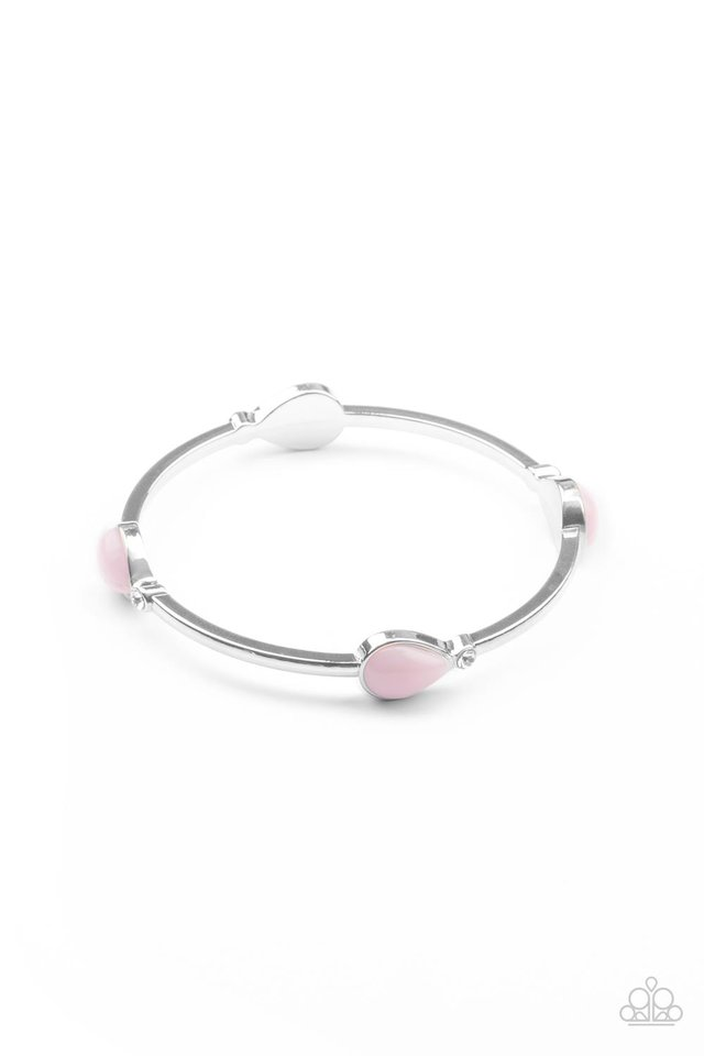 Dewdrop Dancing - Pink - Paparazzi Bracelet Image