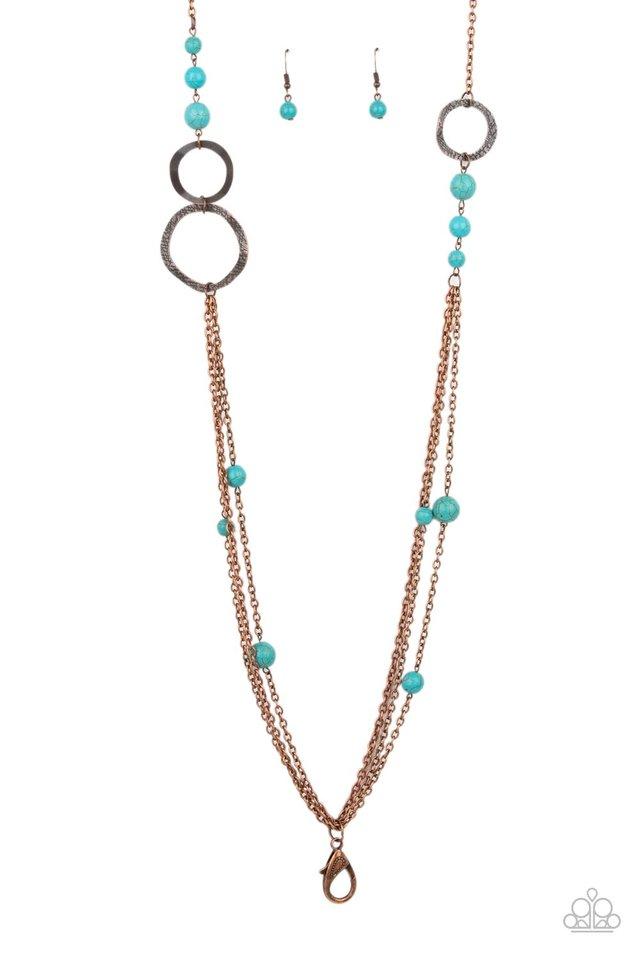 Local Charm - Copper - Paparazzi Necklace Image