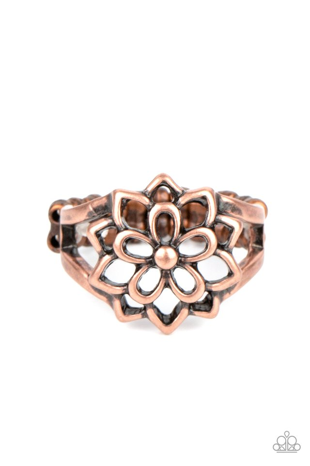 Prana Paradise - Copper - Paparazzi Ring Image