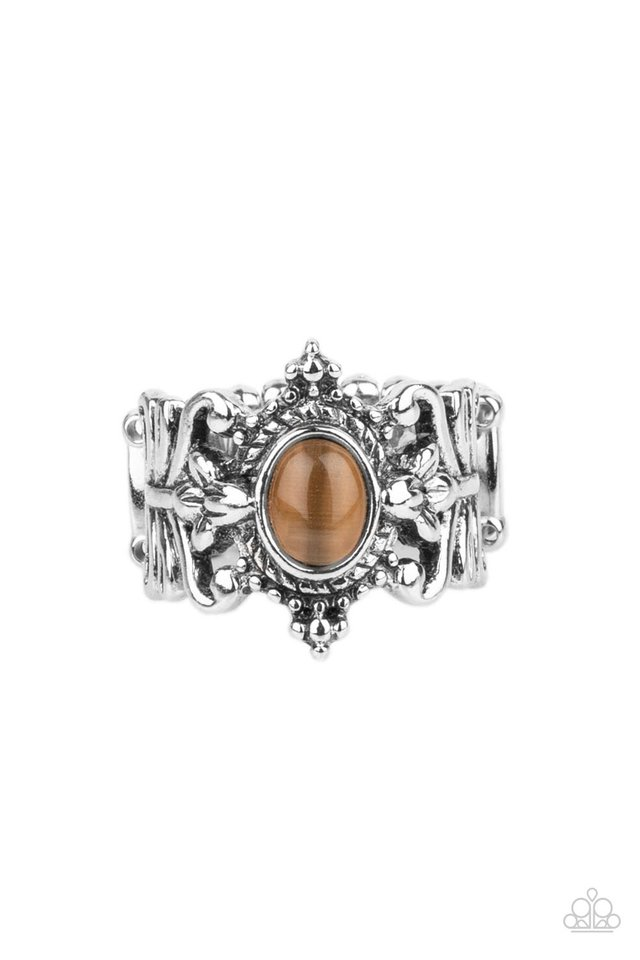 Reformed Refinement - Brown - Paparazzi Ring Image