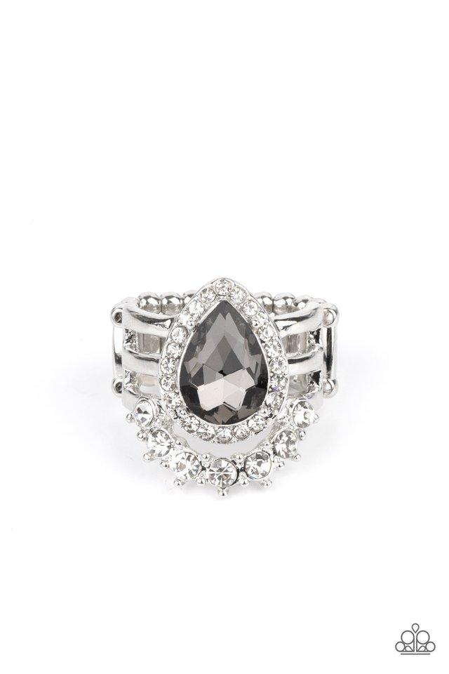 Elegantly Cosmopolitan - Silver - Paparazzi Ring Image