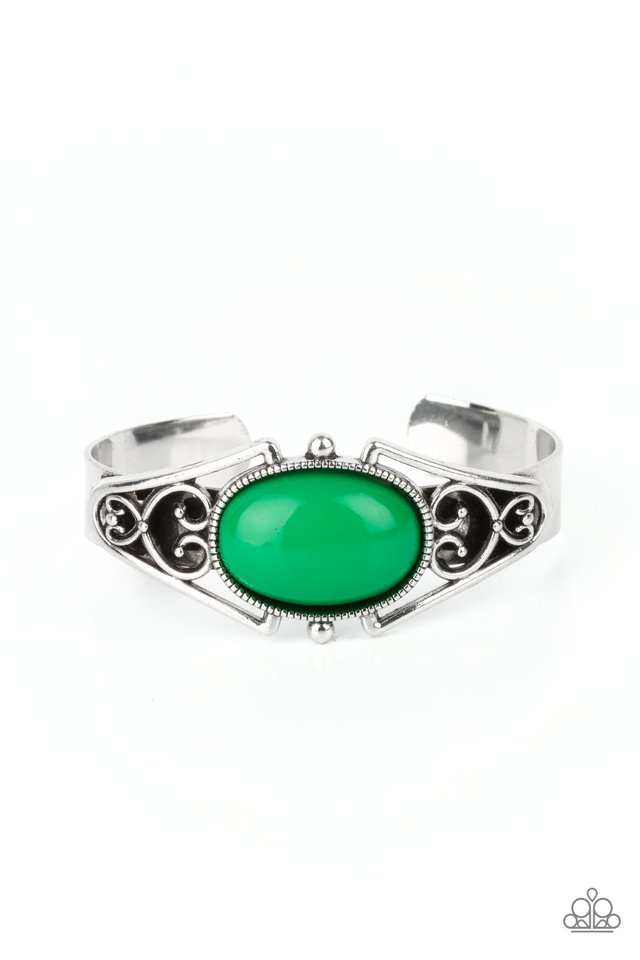 Springtime Trendsetter - Green - Paparazzi Bracelet Image