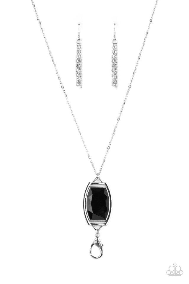 Timeless Tale - Black - Paparazzi Necklace Image