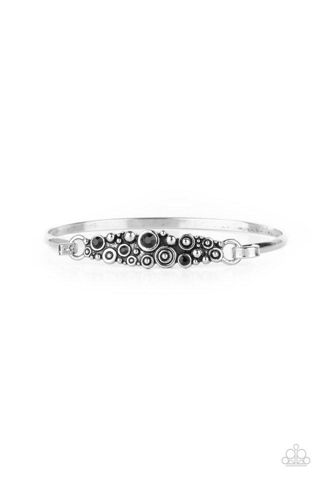 Bubbling Whimsy - Black - Paparazzi Bracelet Image