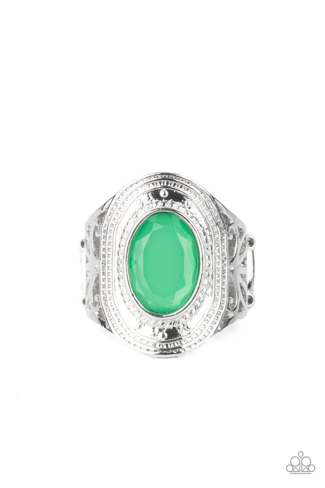 Calm And Classy - Green - Paparazzi Ring Image