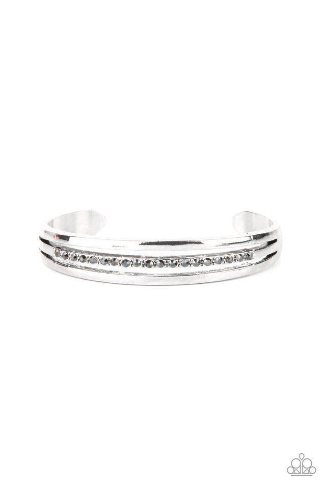 A Point Of Pride - Silver - Paparazzi Bracelet Image