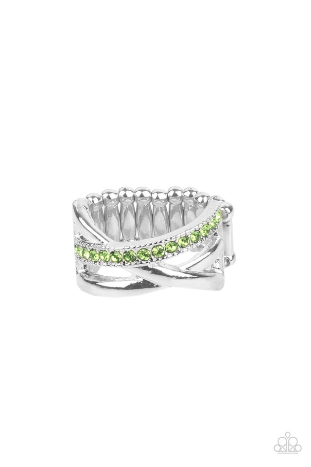 Forever Flawless - Green - Paparazzi Ring Image