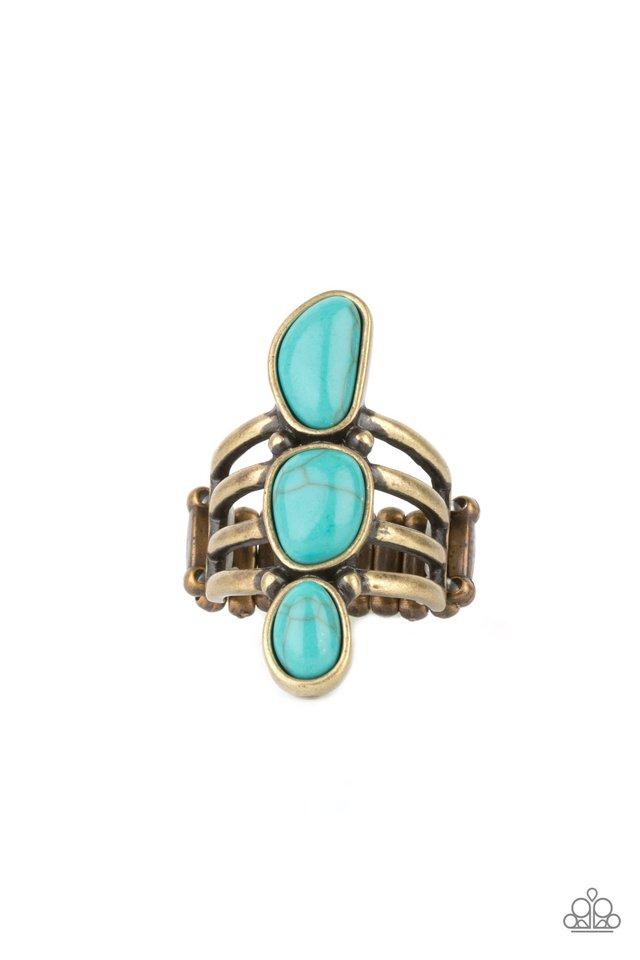 Extra Eco - Brass - Paparazzi Ring Image