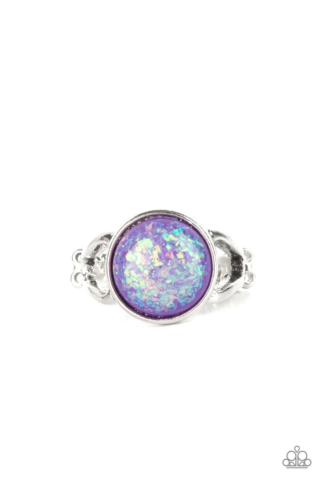 Glitter Grove - Purple - Paparazzi Ring Image