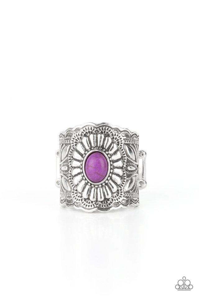 Exquisitely Ornamental - Purple - Paparazzi Ring Image