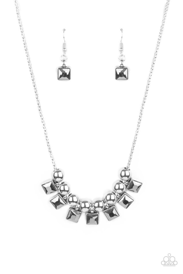 Graciously Audacious - Silver - Paparazzi Necklace Image