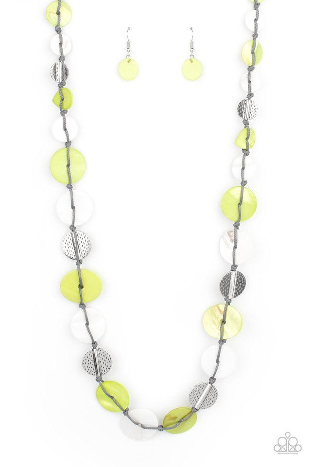 Seashore Spa - Green - Paparazzi Necklace Image