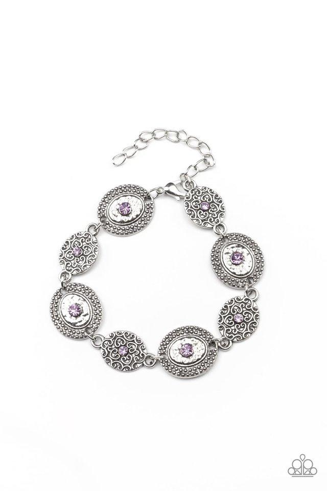 Secret Garden Glamour - Purple - Paparazzi Bracelet Image