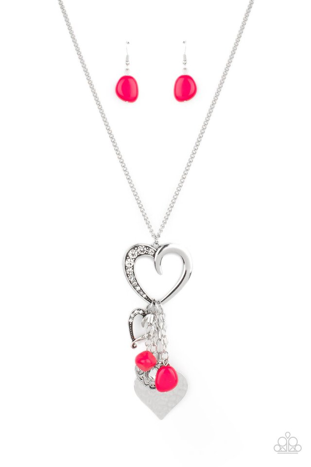 Flirty Fashionista - Pink - Paparazzi Necklace Image
