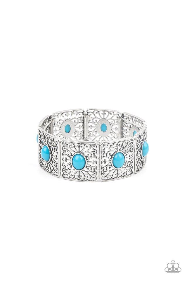 Cakewalk Dancing - Blue - Paparazzi Bracelet Image