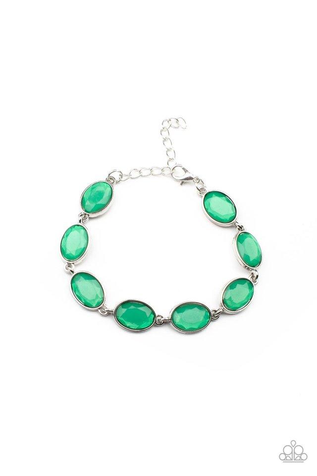 Smooth Move - Green - Paparazzi Bracelet Image