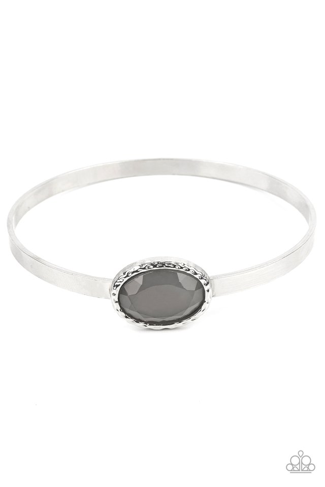 Misty Meadow - Silver - Paparazzi Bracelet Image