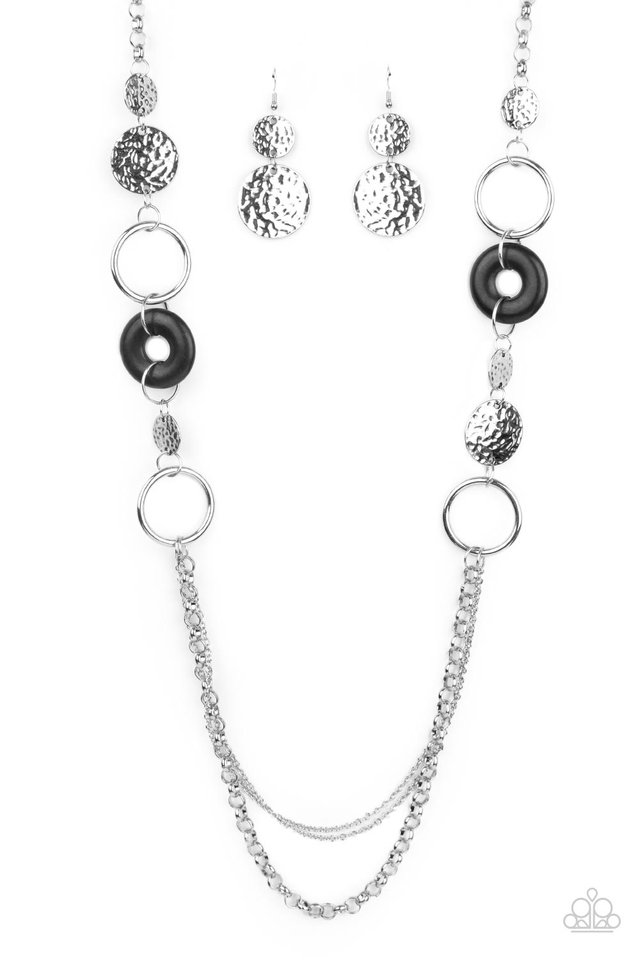 Grounded Glamour - Black - Paparazzi Necklace Image