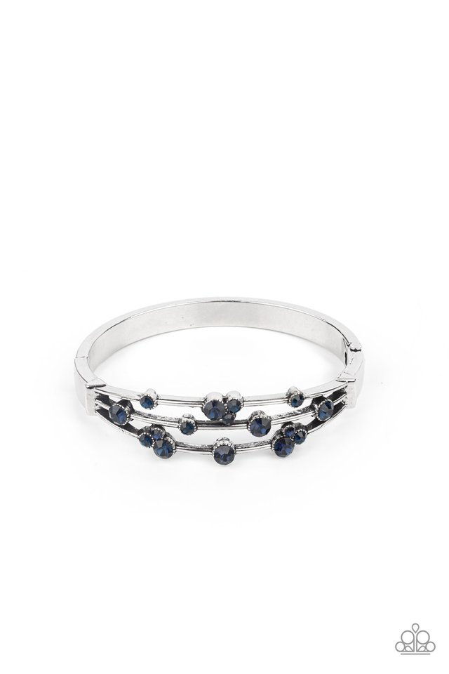 Cosmic Candescence - Blue - Paparazzi Bracelet Image