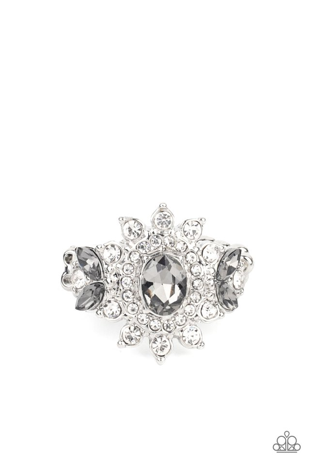 The Princess and The FROND - Silver - Paparazzi Ring Image