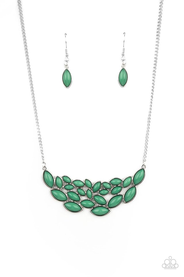 Eden Escape - Green - Paparazzi Necklace Image