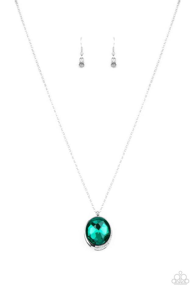 Fashion Finale - Green - Paparazzi Necklace Image