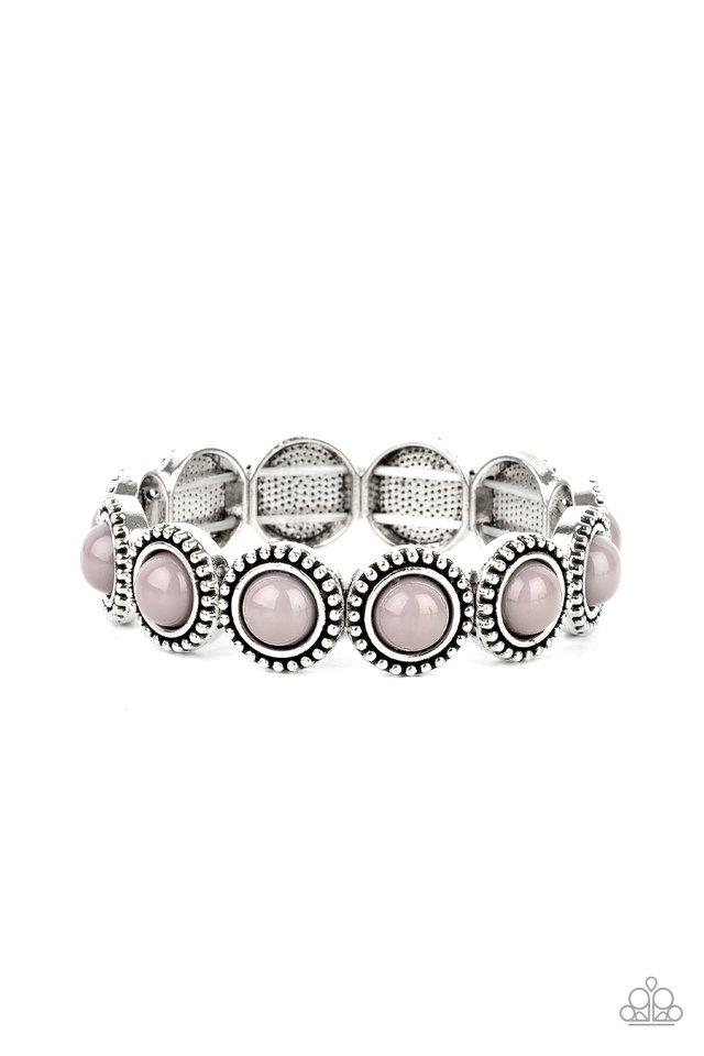 Polished Promenade - Silver - Paparazzi Bracelet Image