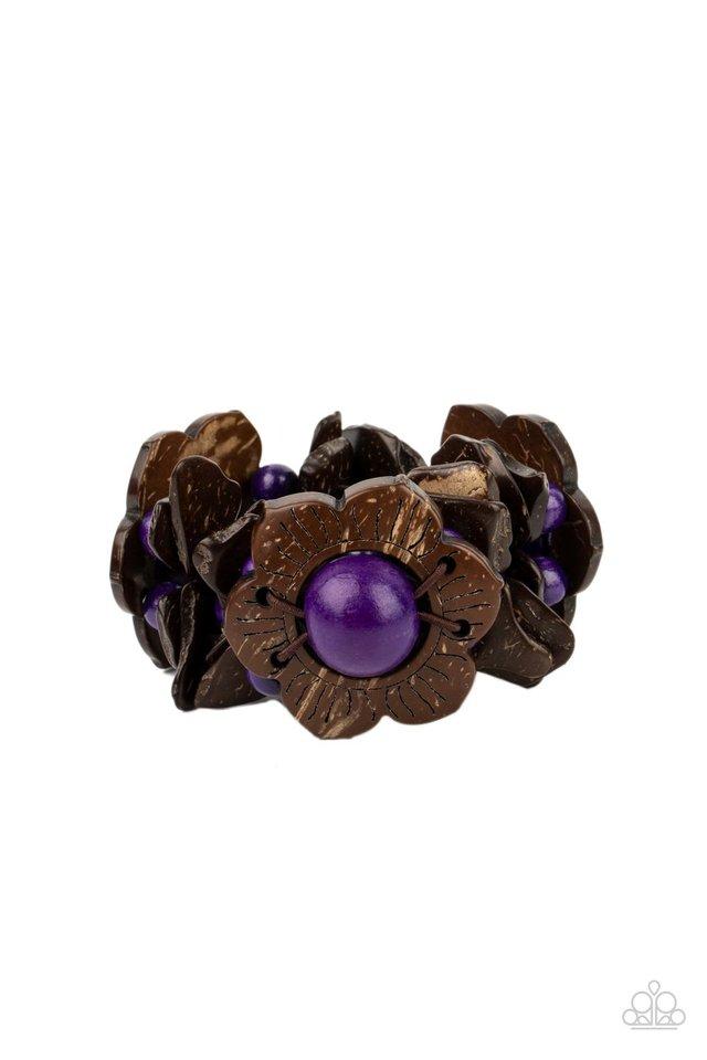 Mediterranean Mangrove - Purple - Paparazzi Bracelet Image