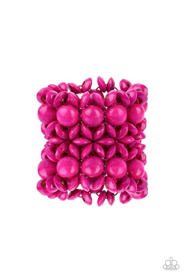Island Mixer - Pink - Paparazzi Bracelet Image
