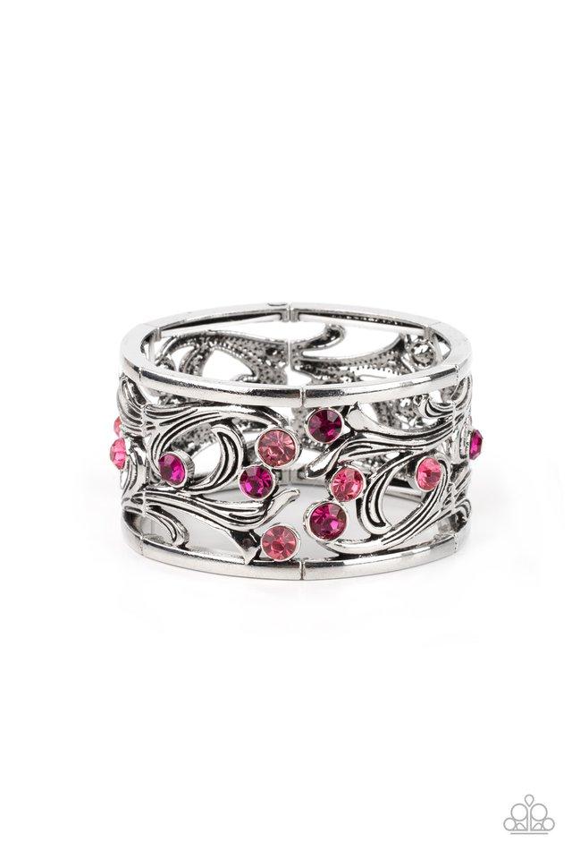 Garden Masquerade - Pink - Paparazzi Bracelet Image