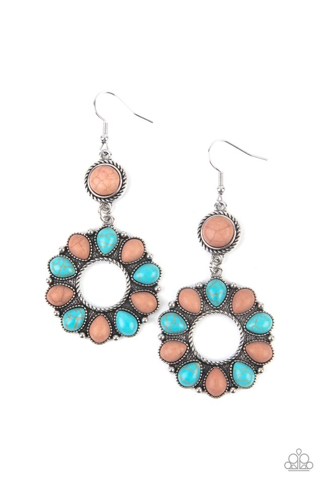 Back At The Ranch - Multi - Paparazzi Earring Image