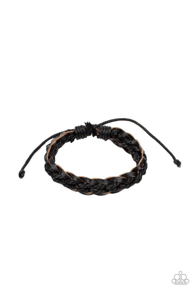 SoCal Scene - Black - Paparazzi Bracelet Image