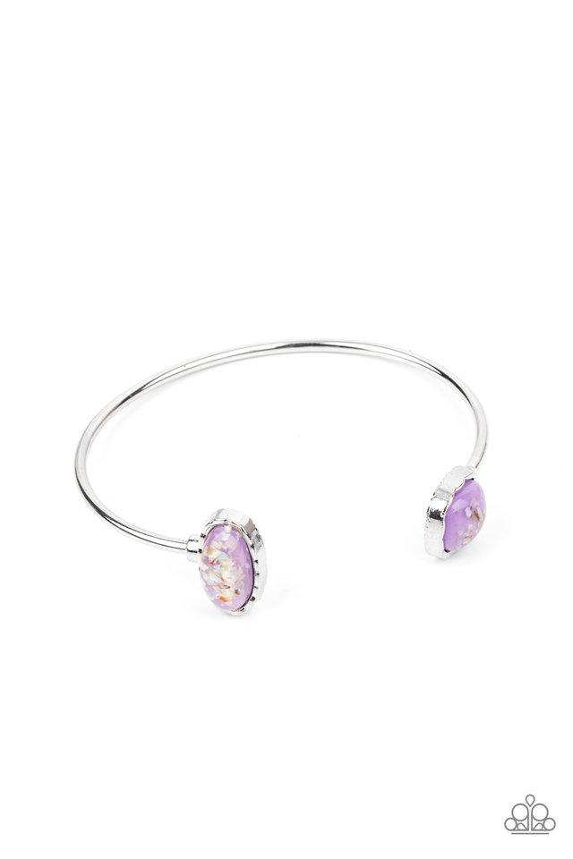 Dont BEAD Jealous - Purple - Paparazzi Bracelet Image