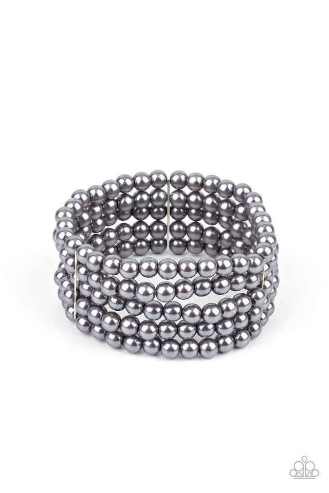A Pearly Affair - Silver - Paparazzi Bracelet Image