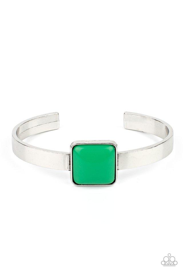 Prismatically Poppin - Green - Paparazzi Bracelet Image