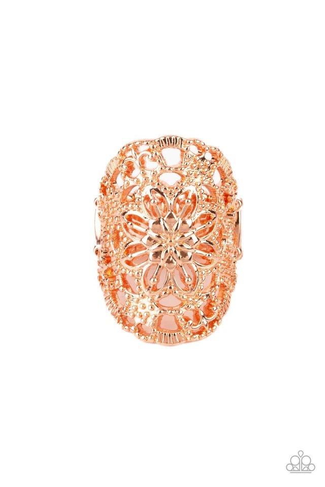Mandala Grove - Copper - Paparazzi Ring Image