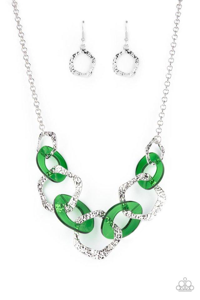 Urban Circus - Green - Paparazzi Necklace Image