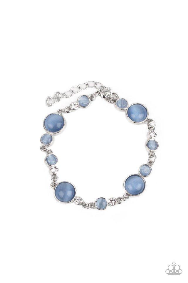 Storybook Beam - Blue - Paparazzi Bracelet Image