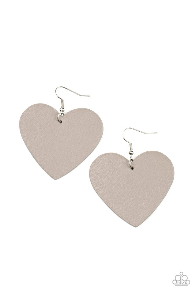 Country Crush - Silver - Paparazzi Earring Image