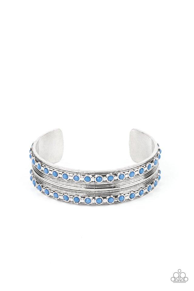 Costa Rica Retreat - Blue - Paparazzi Bracelet Image
