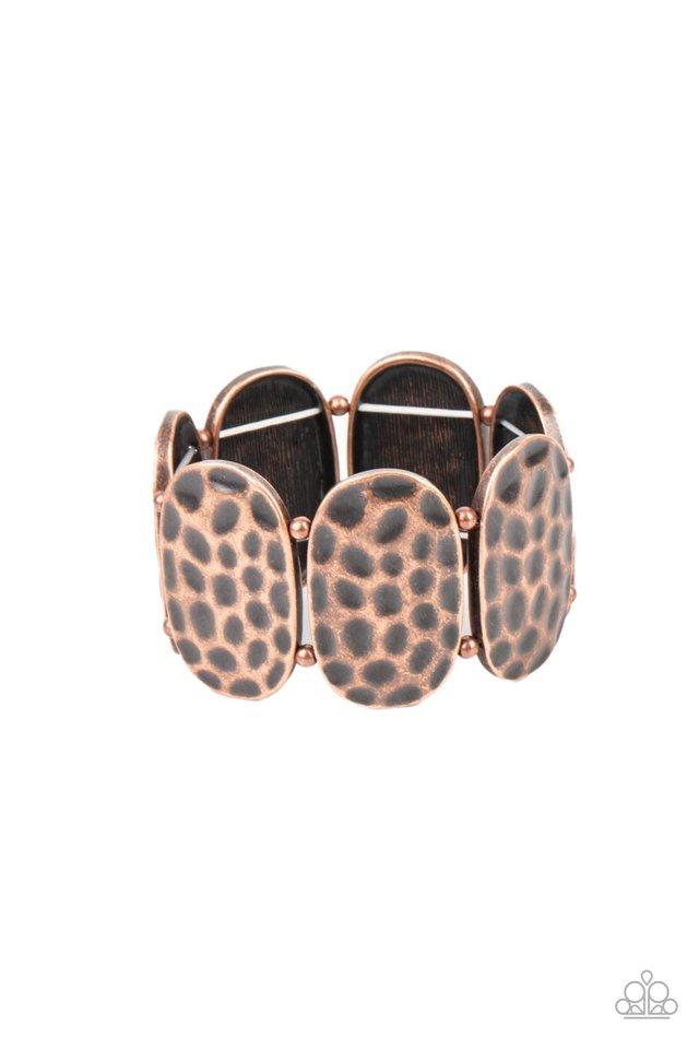 Artisan Exhibition - Copper - Paparazzi Bracelet Image
